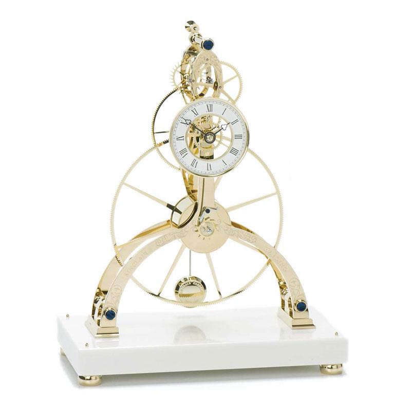 Great Wheel Skeleton Clock von Sinclair Harding: ab Oktober 2017 in unserem Geschäft